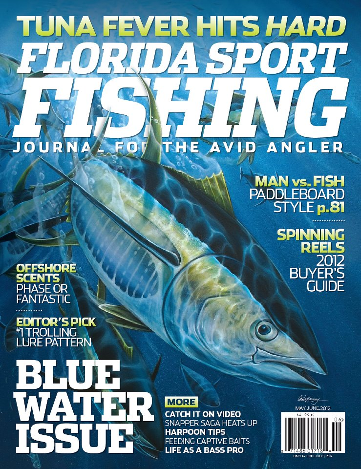 Update may june florida sport fishing magazine cover for Florida sport fishing magazine