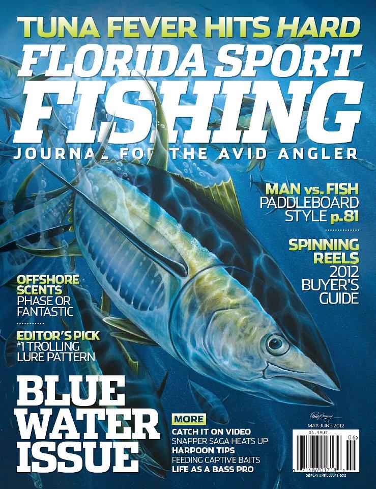 update may june florida sport fishing magazine cover On florida fishing magazine